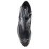McQ Alexander McQueen Women's Solstice Zip Leather Ankle Boots - Black: Image 3