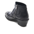 McQ Alexander McQueen Women's Solstice Zip Leather Ankle Boots - Black: Image 4