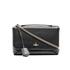 Vivienne Westwood Women's Balmoral Grain Leather Large Fold Over Shoulder Bag - Black: Image 1
