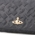 Vivienne Westwood Women's Harrow Embossed Leather Credit Card Purse - Black: Image 3