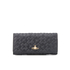 Vivienne Westwood Women's Harrow Embossed Leather Credit Card Purse - Black: Image 1