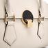 Vivienne Westwood Women's Opio Saffiano Leather Handbag - Beige: Image 4
