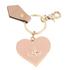 Vivienne Westwood Women's Mirror Heart Keyring - Pink: Image 1
