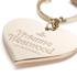Vivienne Westwood Women's Mirror Heart Keyring - Pink: Image 3