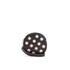 MICHAEL MICHAEL KORS Women's Jet Set Stud Small Coin Purse - Black: Image 1
