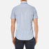 BOSS Orange Men's Eglam Short Sleeve Shirt - Open Blue: Image 3