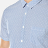 BOSS Orange Men's Eglam Short Sleeve Shirt - Open Blue: Image 4