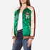 Maison Scotch Women's Reversible Relaxed Fit Bomber Jacket with Embroideries - Multi: Image 2