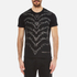 Versace Jeans Men's Studded Wave Detail T-Shirt - Black: Image 1