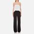 Diane von Furstenberg Women's Amare Jumpsuit - Ivory/Black: Image 1