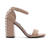 Senso Women's Leila Suede Barely There Heeled Sandals - Caramel: Image 1