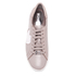MICHAEL MICHAEL KORS Women's Keaton Heart Leather Trainers - Cement: Image 3