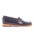 Bass Weejuns Women's Penny Wheel Patent Leather Loafers - Deep Navy: Image 1