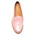 Bass Weejuns Women's Penny Wheel Patent Leather Loafers - Bridal Rose: Image 3