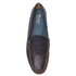 Bass Weejuns Men's Palm Springs Larson Mon Leather Penny Loafers - Navy: Image 3