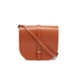 The Cambridge Satchel Company Women's Large Saddle Bag - Amber: Image 1