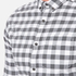 Superdry Men's Ultimate Pinpoint Long Sleeve Oxford Shirt - Kings Grey Check: Image 5