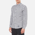 Superdry Men's Ultimate Pinpoint Long Sleeve Oxford Shirt - Kings Grey Check: Image 2
