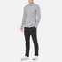 Superdry Men's Ultimate Pinpoint Long Sleeve Oxford Shirt - Kings Grey Check: Image 4