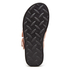 Alexander Wang Women's Kris Leather Double Strap Slide Sandals - Black/Natural: Image 5