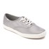 Keds Women's Champion Metallic Canvas Plimsoll Trainers - Silver: Image 2