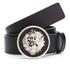 Versus Versace Men's Round Logo Belt - Black: Image 1