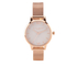 Olivia Burton Women's Rose Gold Mesh Bracelet Watch - Rose Gold: Image 1