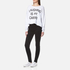 Wildfox Women's Laughing is My Cardio Sweatshirt - Clean White: Image 3