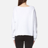 Wildfox Women's Laughing is My Cardio Sweatshirt - Clean White: Image 2