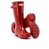Hunter Kids' Original Gloss Wellies - Military Red: Image 5