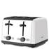 Kenwood TTM480WH Scene 4 Slice Toaster - White: Image 1