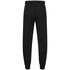 adidas Men's Essential Logo Cuffed Fleece Sweatpants - Black: Image 2