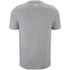 adidas Men's Essential Big Logo T-Shirt - Grey Marl: Image 2