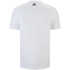 adidas Men's Essential Big Logo T-Shirt - White: Image 2