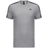 adidas Men's Essential 3 Stripe T-Shirt - Grey Marl: Image 1