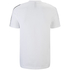 adidas Men's Essential 3 Stripe T-Shirt - White: Image 2