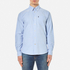 Barbour Men's Stanley Long Sleeve Shirt - Blue: Image 1