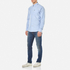 Barbour Men's Stanley Long Sleeve Shirt - Blue: Image 2