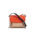 DKNY Women's Greenwich Smooth Mini Messenger Bag - Nude/Orange: Image 1