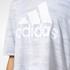 adidas Women's Aeroknit Boxy Crop Top - White: Image 8