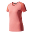 adidas Women's Primeknit Wool Running T-Shirt - Easy Coral: Image 1