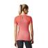 adidas Women's Primeknit Wool Running T-Shirt - Easy Coral: Image 5