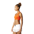 adidas Women's TechFit Medium Support Sports Bra - Energy Red: Image 4