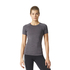 adidas Women's Performance T-Shirt - Trace Grey: Image 3