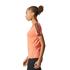 adidas Women's D2M 3 Stripe T-Shirt - Easy Coral: Image 4