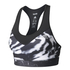 adidas Women's TechFit Graphic Medium Support Sports Bra - Black: Image 1