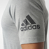 adidas Men's Freelift Prime T-Shirt - Core Heather: Image 5