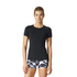 adidas Women's Speed T-Shirt - Black: Image 3