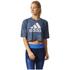 adidas Women's Aeroknit Boxy Crop Top - Blue: Image 3