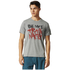 adidas Men's Freelift Nasty T-Shirt - Core Heather: Image 3